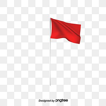 Flag Vector Vector Material Little Red Flag Banner Red Flag Red Vector Flag Vector Red Flag Flag Banners