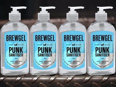 Brewdog Handedesinfektion Anstatt Craft Beer Bier Desinfektion