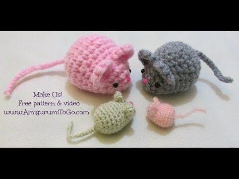 Crochet Along: Amigurumi Mouse