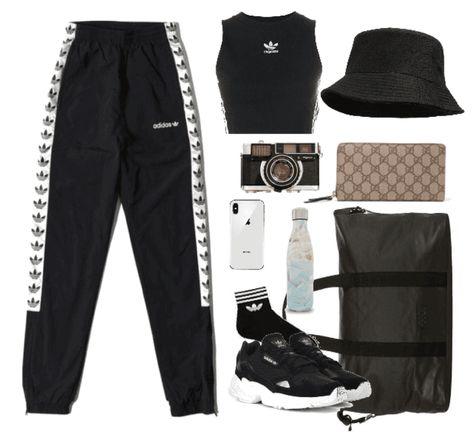 RUN DMC   #athletic #adidas #workout #dance #hiphop #rap #polyvore #shoplook