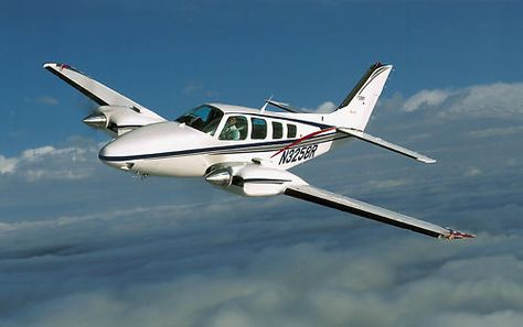 Beechcraft 95 B55 Baron Pilots Manual Poh Flight Manual Beechcraft Baron Aircraft Airplane