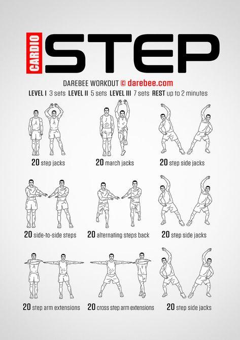 Cardio Step Workout