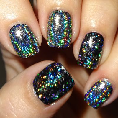 Wendy's Delights: Holographic Flakies from Born Pretty Store @bornprettystore FREE SHIPPING  10% OFF USE HXBQ10