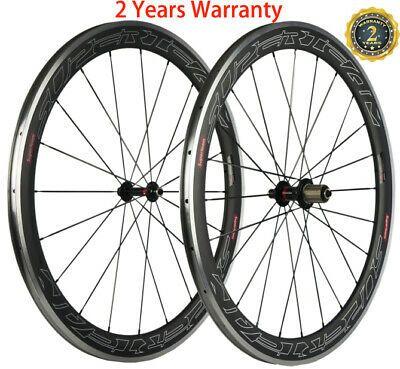 Details About 50mm Aluminum Carbon Wheels Road Bike 23mm Width