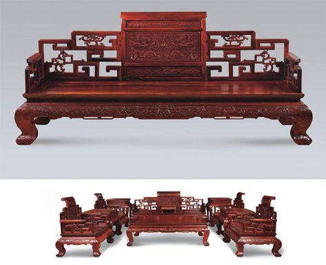 Ancient Chinese Furniture Traditional Style File Photo