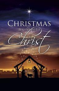 CHRISTMAS begins with CHRIST.  http://kf1958sales.com/