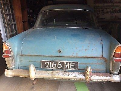 Ebay Classic Car Barn Find Ford Zephyr Mk2 1960 Classiccars