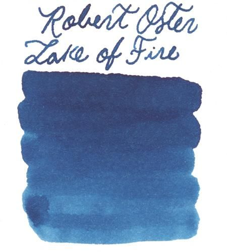 Robert Oster Lake Of Fire Ink Sample In 2020 Fountain Pen Ink Plastic Vials Crafts For Seniors