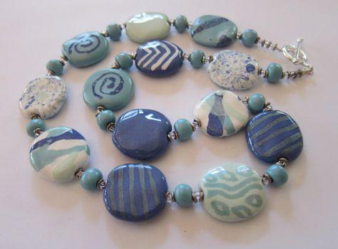 handmade 25 pieces of ceramic beads Kazuri Kenya ca 15 mm