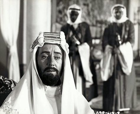 Alec Guinness, Lawrence of Arabia (Columbia, 1962)