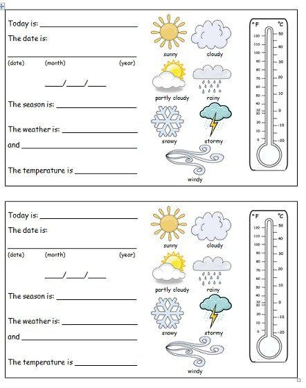 Pin Di Weather And Climate Worksheets Free Printable Free printable weather worksheets for