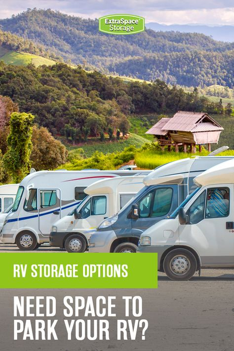What do you do with your RV during the off-season? Here are some storage tips to keep your RV in the best possible condition. Securely store your RV with Extra Space Storage. #RV #RVstorage #RVing
