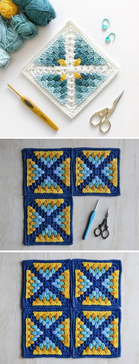 Crochet Square by LoopyStitch