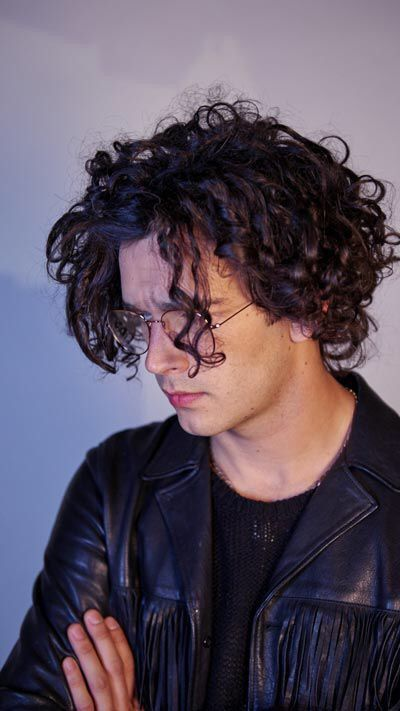 His Hair Is Always On Point The 1975 Curly Hair Styles Curly Hair Men