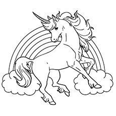 unicorn color pages # 9