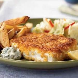 We Loved This Halibut Recipe So Much We Gave It Our Highest Rating Make The Mayonnaise Based Aioli Ahead If You Like Halibut Recipes Recipes Seafood Recipes