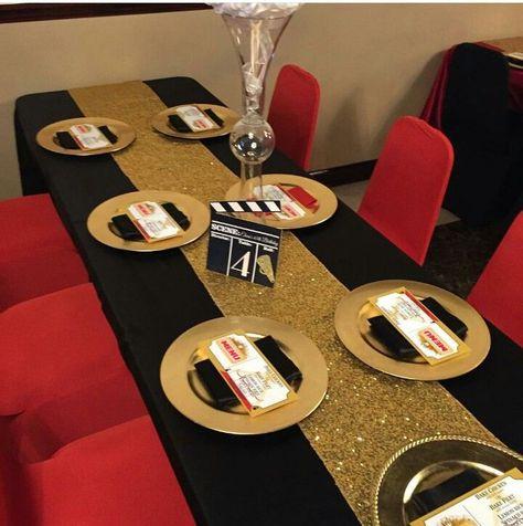 hollywood theme party menu ideas
