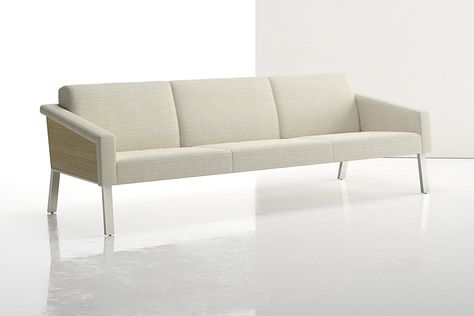 Drawing from classic furniture forms, the long, low lines are simple and yet welcoming with an open architecture, generous seat depth and gently angled seat and back.