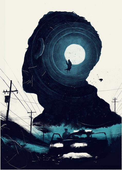 30 Cleverly Illustrated Posters with Double Exposure Effects