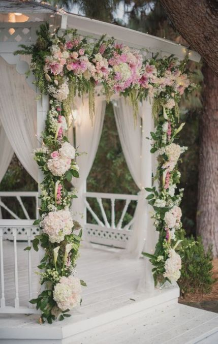56 Ideas For Garden Wedding Altar Ceremony Arch Gazebo Wedding