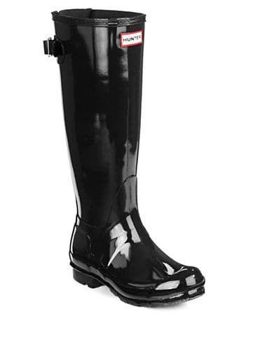 Hunter Women's Original Back Adjustable Gloss Rainboots