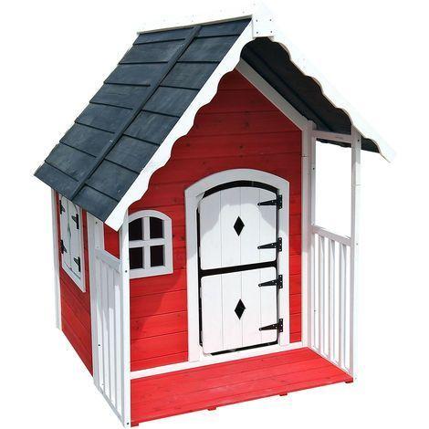 Spielhaus Villa Fur Kinder Holz Veranda Kinderspielhaus Gartenhaus Haus Garten 51828 Fur Bird House Decor Outdoor Toys