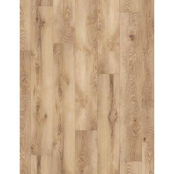Allen Roth Fiordland Pemberton Oak 7 55 In W X 50 62 In L Embossed Wood Plank Laminate Flooring Lowes Com In 2020 Laminate Flooring Flooring Wood Planks