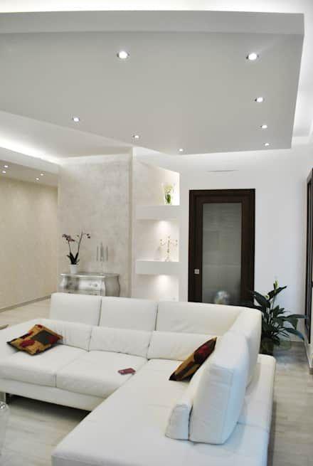 Soggiorno In Stile Moderno.Idee Arredamento Casa Interior Design Arredamento Moderno