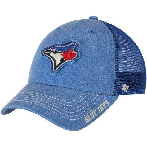 new style 6fb37 9c821 Men s Toronto Blue Jays  47 Gray Vintage Clean Up Adjustable Hat, Your  Price   24.99   Toronto Blue Jays Caps   Hats   Baseball hats, Toronto Blue  Jays, ...