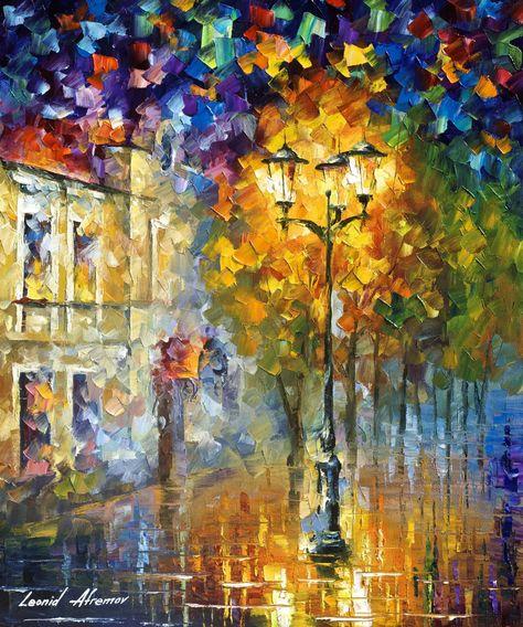 130 Leonid Afremov Ideas Oil Painting On Canvas Canvas Painting Oil Painting