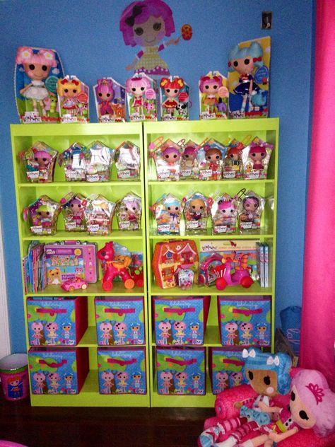 Lot of 6 Mini Lalaloopsy Doll Dollhouse Play Doll BIN