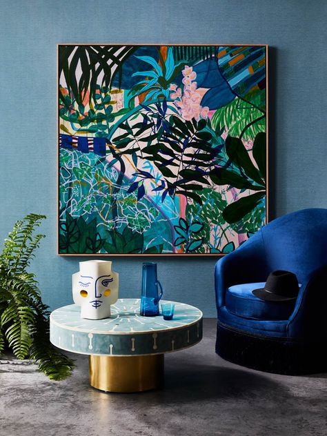 Artist profile: Kate Mayes' bright botanical works - The Interiors Addict