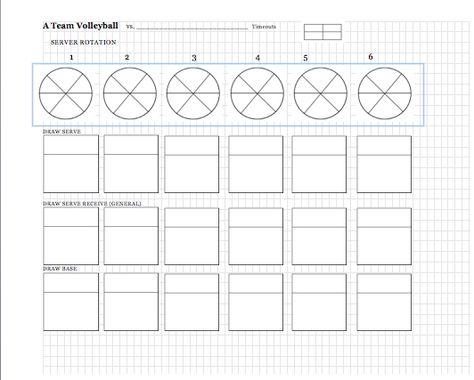 Learning Transitions Volleyball Homework Sheet Volleyball Charts - sample wrestling score sheet