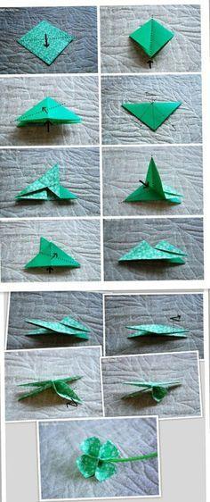 tutoriel buste origami
