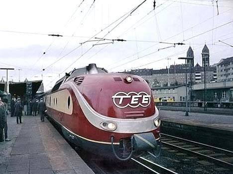 50 Jahre TEE - Trans Europe Express What's not to love?