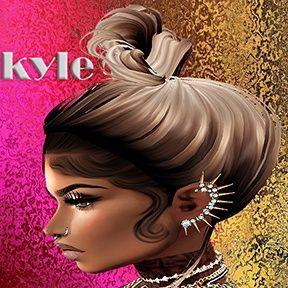 KYLE BABY HAIR MESH | BABY HAIR MESH IMVU | Hair, Imvu, Baby