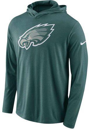 452695cb Nike Philadelphia Eagles Mens Teal Dri-Blend Tee   NFL ...