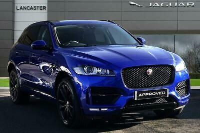 2018 Jaguar F Pace R Sport Awd Diesel Blue Automatic Ebay Awd Jaguar Diesel