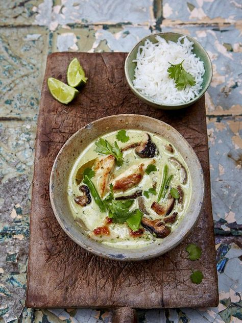 Thai green chicken curry (from Jamie Oliver); I cannot WAIT to try it!