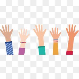 Everybody Stretched Out His Hand Vector Png Raise Your Hands Raise Your Hand Png Transparent Clipart Image And Psd File For Free Download Hand Illustration Raise Your Hand Clip Art Borders