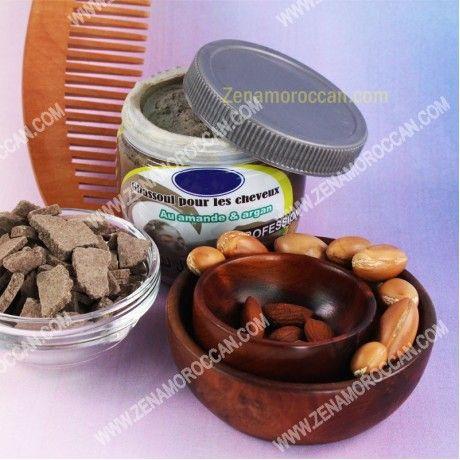 غاسول الشعر المغربي بالارجان واللوز Almond Dog Bowls Bowl