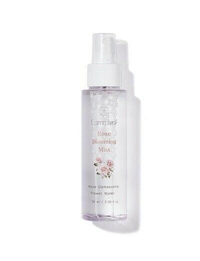 Commleaf Rose Blooming Mist 70ml Rosa Damascena Flower Water Panthenol Commleaf Skin Relief Essence Water Things To Sell