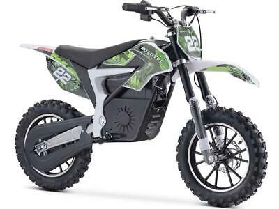 Mototec 36v 500w Demon Electric Dirt Bike Lithium 16 Mph Top Speed Green In 2020 Electric Dirt Bike Bike Pit Bike