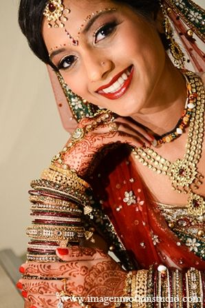 Indian Wedding Bridal Fashion Hair Makeup Jewelry Maharaniweddings Gallery Photo 11979