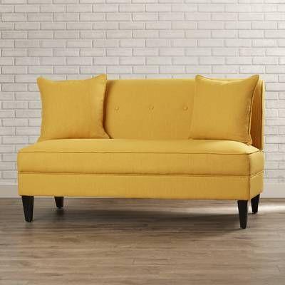 Magruder Velvet 83 Square Arm Sleeper In 2021 Love Seat Best Leather Sofa Small Loveseat