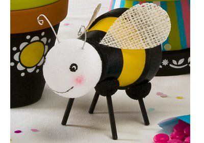 Easy DIY Bumble Bee Egg   Rather Luvly
