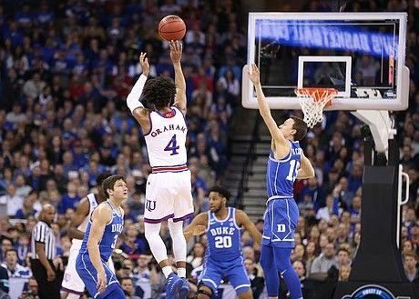 Photo Gallery Kansas Basketball V Duke Elite Eight Kansas Basketball Basketball Basketball Skills