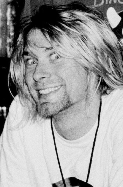 Kurt Cobain Smile Is Sooo Crazy
