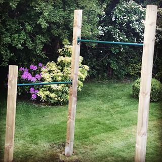 Gray Wood Plans Pictures Woodworkingwednesday Woodworkingdiyoutdoor Outdoor Pull Up Bar Diy Playground Backyard Play