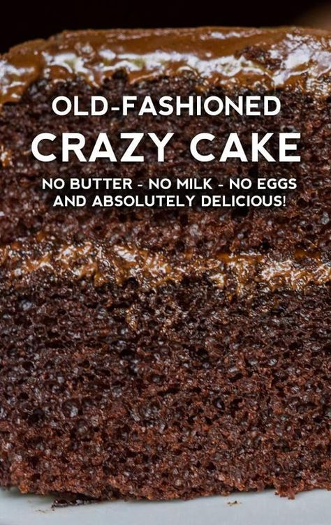 For so many people, the Great Depression was a time of hardship and of scarcity. But it was also a time of great ingenuity and creativity. People had to make do with what they had #cakerecipes